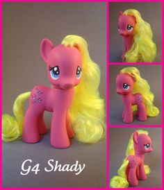 G4 Shady custom pony