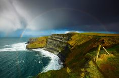 The Cliffs of Moher #Ireland #travel #Europe