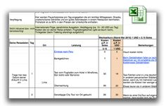 Peru Reisekosten Excel-Liste: Konkrete Kostenplanung   Info-Peru