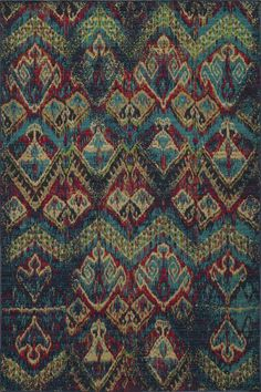 Meant to emulate the over-dyed and patchwork handknotted rugs that are so popular today, Vintage interprets this look in a power-loomed quality with hand-sheared finishing that gives each design the look of a distressed, antiqued piece.