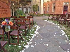 Fall Charlottesville Wedding; Arbor Courtyard; Andrea + Clint 11.02.13 {Photo Credit: Ryan & Rach Photography}