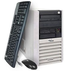 Calculator Fujitsu Esprimo P5600, Tower, AMD Sempron 3000+, 1.8GHz, 1Gb DDR, 40GB HDD, DVD-ROM