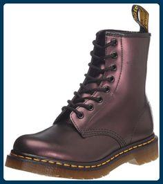 Dr. Martens 1460 Unisex - Erwachsene Stiefel, Violett (Purple Shimmer), 40 EU - Stiefel für frauen (*Partner-Link)