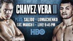 BOXING: Julio Cezar Chavez Jr. vs Bryan Vera II (The Rematch) - 02 March 2014 | TV@Cinema ni Juan Online