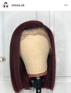 Cute straight bob wigs for black women lace front wigs human hair wigs. Click pi… Cute straight bob wigs for black women lace front wigs human hair wigs. Click picture to buy this wig. Wig Styling, Curly Hair Styles, Natural Hair Styles, Natural Hair Weaves, Natural Wigs, Hair Laid, Human Hair Lace Wigs, My Hairstyle, Wigs For Black Women