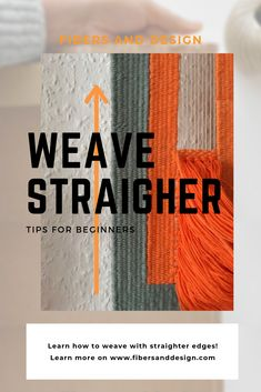 Learn how to weave straight edges selvedges. Weaving Loom Diy, Weaving Art, Tapestry Weaving, Hand Weaving, Inkle Weaving Patterns, Loom Patterns, Stitch Patterns, Knitting Patterns, Yarn Wall Art