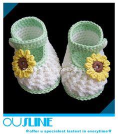zapatitos de bebe a crochet - Buscar con Google