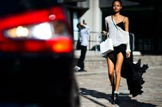 See 92 of the best street style looks from London Fashion Week now on wmag.com.