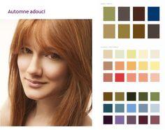 Colorimétrie : Automne Adouci