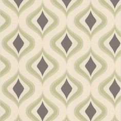 Graham & Brown 56 sq. ft. Trippy Green Wallpaper-30-448 at The Home Depot