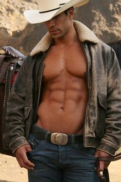 I think this cowboy needs male moisturizer for men. Send him to Tempt by Cazbe for his organic oil free moisturizer :)
