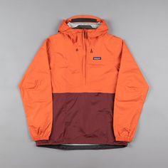 Patagonia Torrentshell Pullover Jacket - Cusco Orange