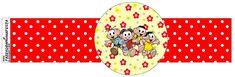 Turma da Mônica - Kit Completo com molduras para convites, rótulos para guloseimas, lembrancinhas e imagens! Pot Holders, Sweet Like Candy, Invitations, Diy Home, Moldings, You Complete Me, Fiestas, Hot Pads, Potholders