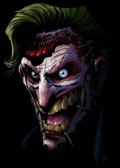 Why does this look like Matt Smith as the joker?!