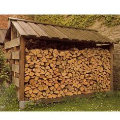 Low Carbon Cairngorms - Woodfuel - Storing and Stacking Outdoor Firewood Rack, Firewood Storage, Firewood Shed, Backyard Fort, Backyard Sheds, Log Shed, Log Store, Cairngorms, Carport Designs