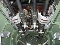 Bomb bay and cannons Mosquito KA114