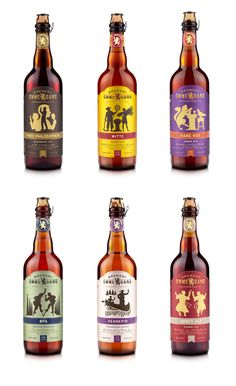 Ommegang. Cool illustrations to match the brews. I like the dancing Monks on the Abbey Ale.