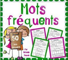 70 pages de pratique pour apprendre et réviser les mots fréquents.