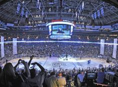 Rogers Arena, home of the Vancouver Canucks.