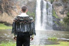Tane contemporary Korowai (cloak)