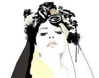 Lana by Gosia Grochala, via Behance