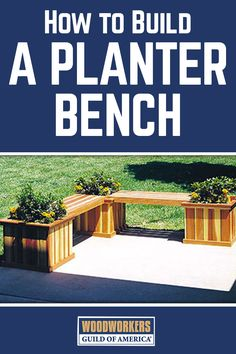 This simple and elegant planter bench project is ideal for the porch, patio, or pool. Filled with plants and flowers, it will define a corner of the porch or patio with style.  Featuring all straight cuts and modular construction, the project allows the builder to decide what combination of planter boxes and connecting benches works best for their own space. Bills of material are included for individual boxes and benches, as well as for the combination pictured.