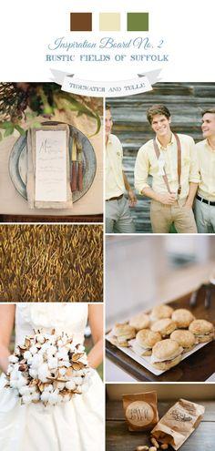 Tidewater and Tulle | A Hampton Roads Virginia Wedding Inspiration Blog: Rustic Fields of Suffolk Wedding Inspiration