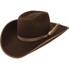Resistol 3x Chocolate Holt Felt Cowboy Hat