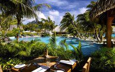 The St. Regis Bora Bora Resort wallpaper