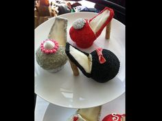 Fancy Shoes cupcakes