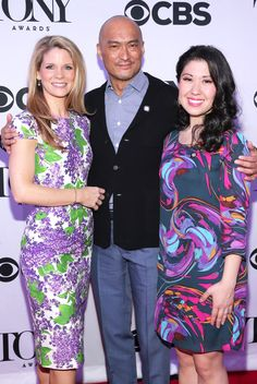 Kelli O'Hara, Ken Watanabe & Ruthie Ann Miles
