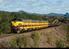 RailPictures.Net Photo: CE 4210 Cliffs Erie Railroad EMD F9(A) at Taconite Harbor, Minnesota by Dave Schauer