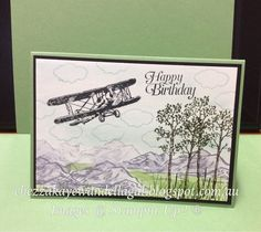 "Cheryl Algie ""Independent Stampin' Up! ® Demonstrator"" : The Sky Is The Limit"