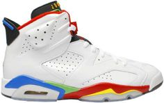 pretty nice 6746c 96ddf Jordan Shoes Air Jordan 6 Retro Olympic 2008 White Varsity Red Green Bean  Blu  Air Jordan 6 - To accommodate the 2008 Summer Olympics taking place in  China, ...