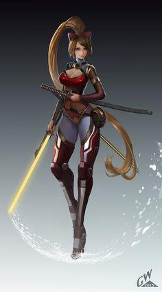257 Best Female Swordsman Images In 2019 Character Art Fantasy