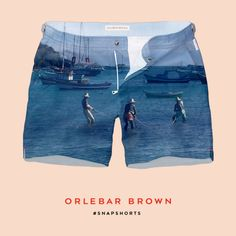 I've just created my own @orlebarbrown #SNAPSHORTS. Try it for yourself for a chance to win a pair.