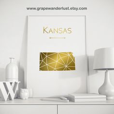 World map chalkboard world map travel map gray world map world kansas state kansas map gold art gold print geometric print gold and white decor state art gumiabroncs Images