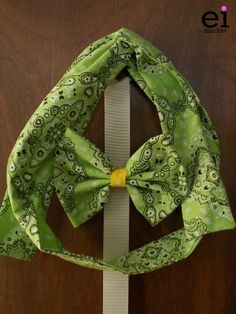 Faixa turbante regulável Verdepara Mães - M: R$25 Laço Verde para Filhas - M: R$10
