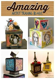 Amazing Artist Trading Blocks | @ArtTheBlock #TheATB