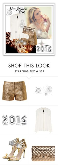 """""""New Years Eve"""" by rosy-fernandes ❤ liked on Polyvore featuring Hansen, Lanvin, Derek Lam and Chanel"""