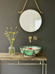 These stunning washbasins are designed by the London Basin Company. They have a range of diverse designs and they are all so deliciously tactile and curvaceous and make a real statement in the bathroom. Bad Inspiration, Bathroom Inspiration, Theodora Home, Interior Minimalista, Interior Decorating, Interior Design, Beautiful Bathrooms, Bathroom Interior, Small Bathroom