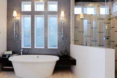 20 Bathroom Mosaic Tile Design Ideas WITH PICTURES Pinterio.com