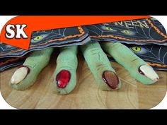 WITCHES FINGER COOKIES - Halloween finger biscuit - YouTube