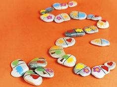 Créativité : Les cailloux s'amusent ! - Activités, loisirs, jeux - Enfant.com