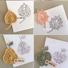 Irresistible Crochet a Doll Ideas. Radiant Crochet a Doll Ideas. Crochet Leaf Patterns, Crochet Leaves, Doily Patterns, Crochet Designs, Crochet Flowers, Freeform Crochet, Crochet Diagram, Crochet Motif, Diy Crochet