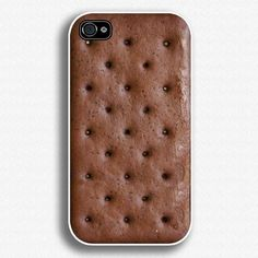 """Ice cream sandwich phone case! Its really cool, but I love ice cream sandwiches so I'm afraid I would try to eat my phone in a moment of hungry desperation""  You should see a doctor for that boo"