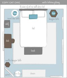 Small Bedroom Arrangement bedroom layout guide | bedroom layouts, small spaces and storage