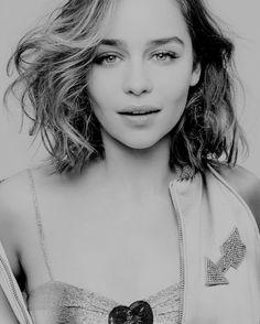 Black and White & Emilia Clarke- Perfect combination