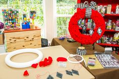 A fun and colorful DIY by actress, Renee Lawless! Don't miss Home & Family weekdays at on Hallmark Channel! Valentine Decorations, Valentine Crafts, Holiday Crafts, Valentines, Valentine Ideas, Home And Family Crafts, Home And Family Hallmark, Wreath Crafts, Diy Wreath