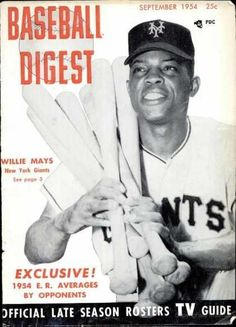 Sports Magazine Covers: Willie Mays